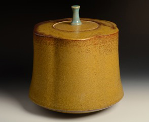New Work Yellow Jar Nichibei Potters